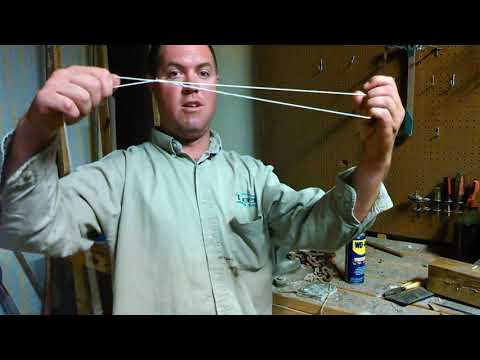 how to cut pvc pipe with a piece of string