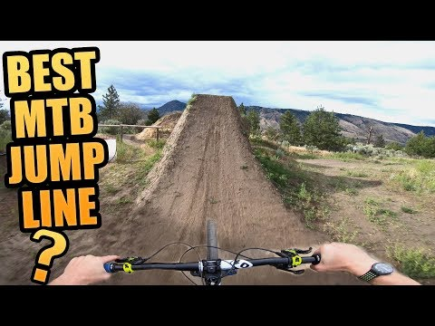 THE BEST MOUNTAIN BIKE JUMP TRAIL EVER?