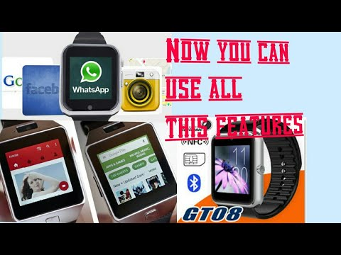 How to run Internet in gt08 smart watch By Technical Antriksh