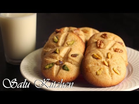 How To Make Pressure Cooker Cookies / Easy & Tasty Eggless Biscuits