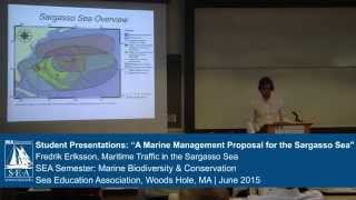 2015 Sargasso Sea Symposium | Human Uses of Sargasso Sea - Shipping