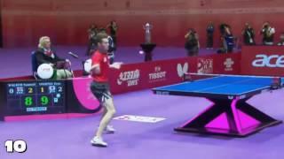 Top 10 Table Tennis Rallies 2016