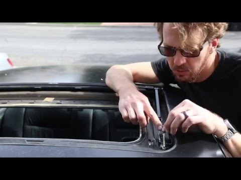 Sunroof Repair: How to fix a broken sunroof on a BMW e36 3-series