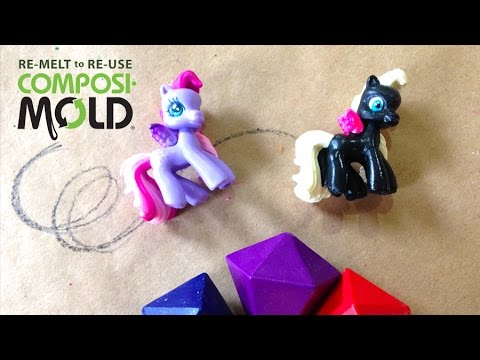 Duplicate Toys with ImPRESSive ReMold Putty: How to Make 2 Part Molds