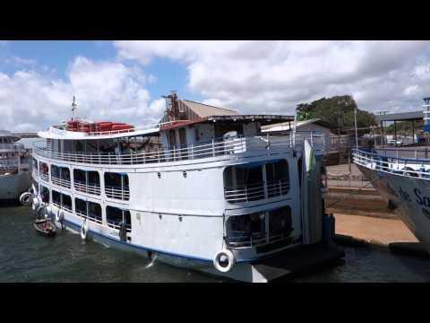 Barco Rio Amazonas Santarém para Óbidos Pará Brasil Boat Amazon River Brazil 14)