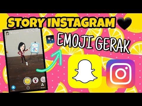INSTAGRAM STORY ADA EMOJI BERGERAK 3D!!!