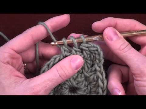 Crochet Decreases: Decreasing 1 Stitch in Double Crochet