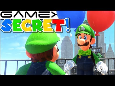 Luigi's SECRET Dialogue in Super Mario Odyssey's Balloon World DLC Update (All Costumes!)