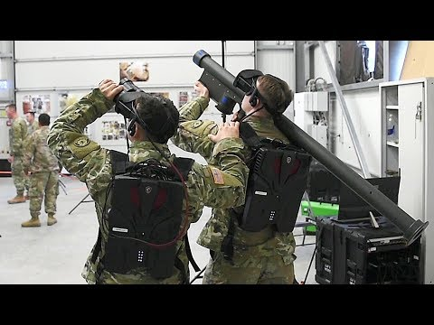 Virtual Stinger Dome – Virtual Reality Stinger Missile Trainer