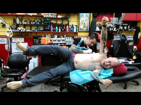 Nice relaxing tattoo session