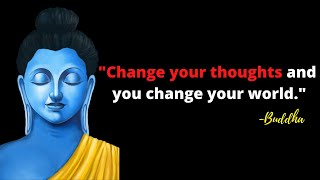 BUDDHA QUOTES ON POSITIVE THOUGHTS