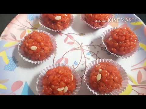 how to make Motichoor Ladoo| Boondi laddu at home