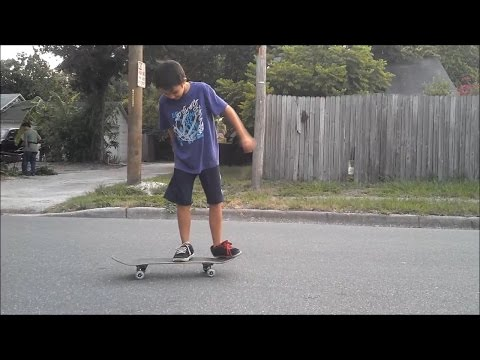 9 YEAR OLD OLLIE SKATE SUPPORT