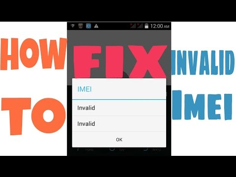 How to repair Invalid imei in MTK Android devices(without PC)