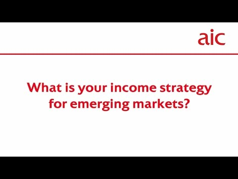 What is your income strategy for emerging markets?