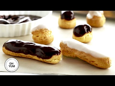 Profiteroles and Éclairs | Oh Yum With Anna Olson