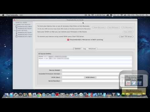How To Backup Your iOS 5.0.1 SHSH Blobs For Future Downgrade (For 5.0.1 Untethered Jailbreak)