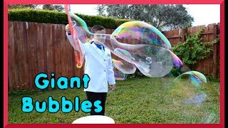 The Science of Giant Bubbles | Make Giant Bubbles| Episode #36 JoJo