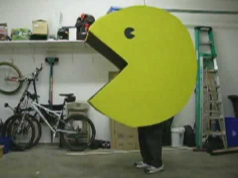 Giant Pacman Costume With Working Mouth