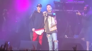 Justin Bieber ft J Balvin Sorry Remix Live  ( FULL HD 1080p  )