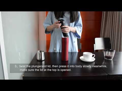 portable coffee maker high quality travel mug french press