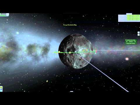 Kerbal Space Program: Mun Orbit Scenario