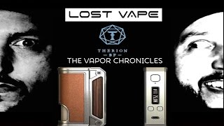 Therion BF DNA 75 Squonker By Lost Vape On TVC