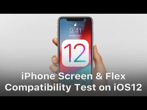 REWA iPhone Screen & Flex Compatibility Test On iOS 12
