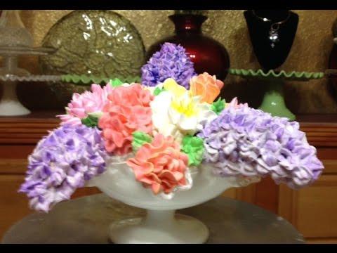 Spring Bouquet Cake / Cake Decorating
