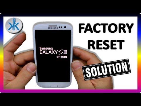 👍✔ Samsung Galaxy S3 (GT-I9300) - FACTORY RESET - HARD RESET ( ESPAÑOL )