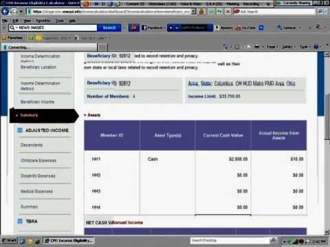 Using the Income Calculator to Determine Annual Income Webinar - 11/13/12