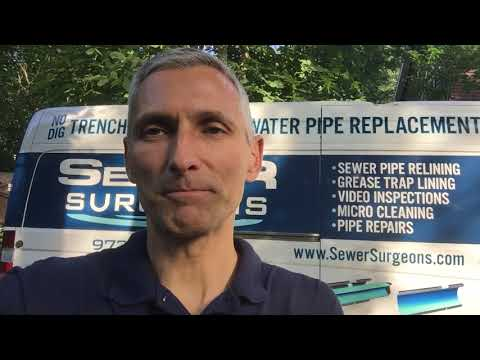 Sewer Surgeons Pipe Repair, Replacement and Relining Services