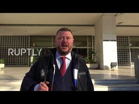 Greece: Bitcoin fraud suspect Vinnik arrives at court for US extradition appeal