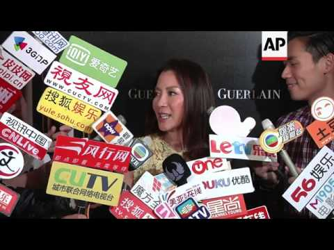 Michelle Yeoh makes appearance in Hong Kong after being criticized for openly supporting Malaysian P
