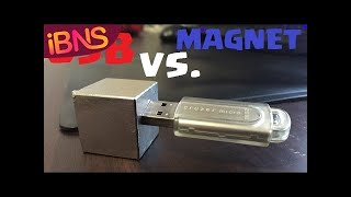 Does a SUPER strong neodymium magnet KILL a USB?!