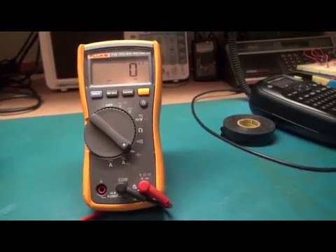 Capacitor testing basics. Don't use a multimeter. Here is why.