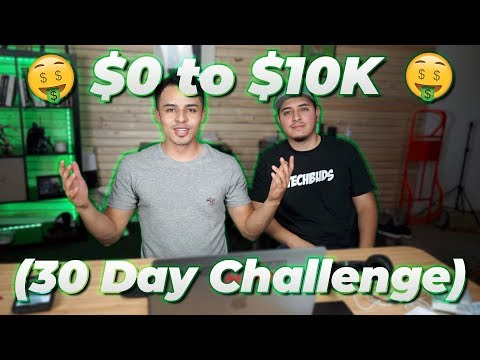 $0 to $10K in 30 Days (CHALLENGE)