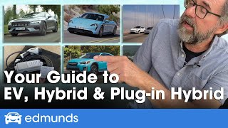 Hybrid vs. Electric vs. Plug-In Hybrid — What's the Difference? Which Is Best for You?