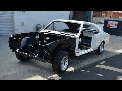 1976 Holden HT Monaro GTS 350 Coupe Build Project