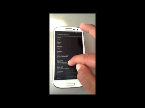 Mobile ODIN : Android App (SAMSUNG)