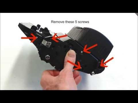 How to refill HP Laserjet Enterprise 600 Toner Cartridge