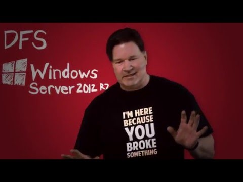 DFS Replication / Setting up DFS on Windows Server 2012 R2