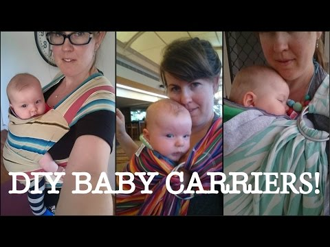 DIY Baby Carriers - YES You CAN!