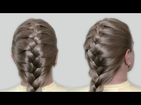 Classic French Braid by Yourself Tutorial |Hairstyles for Medium Long Hair