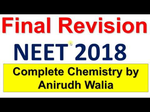 NEET Final Revision Video || Complete Chemistry || NEET Revision || Important Concepts || NEET
