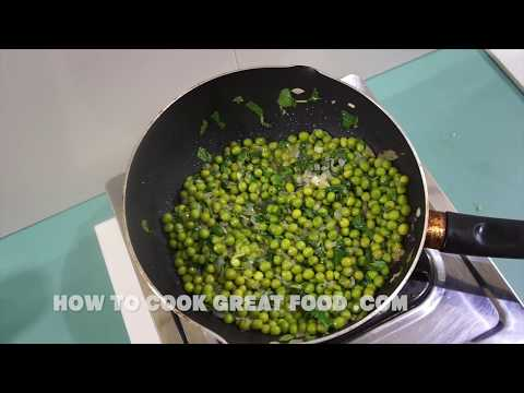 Minted Peas - Simple Easy How to recipe