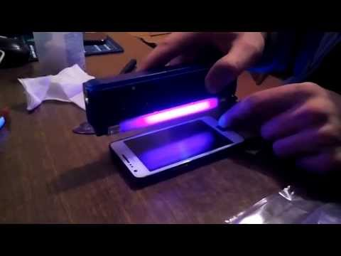 Samsung Galaxy S2 digitizer replacement: short