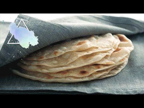Homemade Tortilla Recipe ♡ Sustainably Vegan