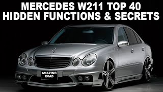 MERCEDES BENZ C CLASS W204 MORE COOL and UNKNOWN features+Tips+