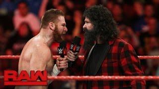 Sami Zayn makes a huge career decision: Raw, Dec. 12, 2016